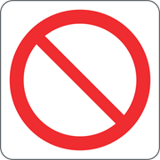 Immagine per la categoria Divieto